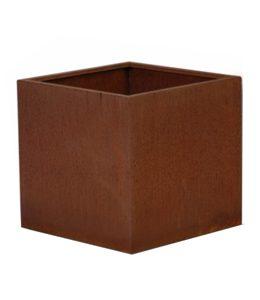 A + Concepts Cortenstalen Plantenbak 145x145x145