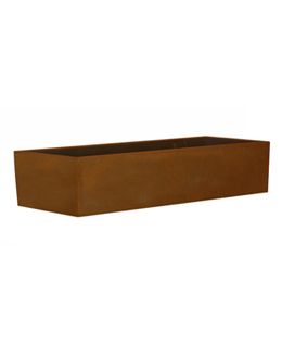 Cortenstalen Borderbak 298x73x30 cm
