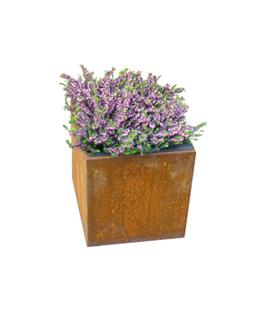 Cortenstaal Plantenbak 30x30x33 cm