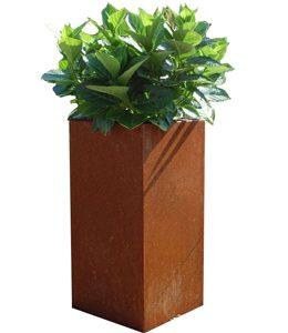 Cortenstaal Plantenbak 40x40x85 cm