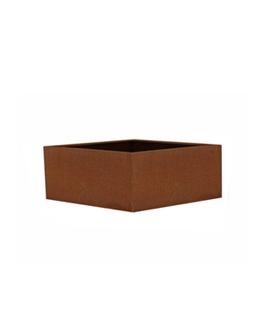 Cortenstalen Borderbak 73x73x30 cm (zonder bodem)