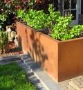 Cortenstaal Plantenbak 196x40x85 cm