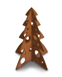 cortenstalen kerstboom