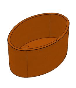 Ovale plantenbakken | A+Concepts
