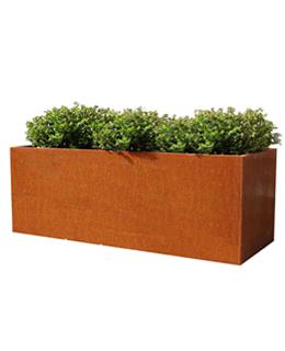 Cortenstalen Plantenbak 196x40x85 cm
