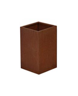 Cortenstalen Plantenbak 30x30x85