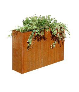 Cortenstalen Plantenbak 88x30x75