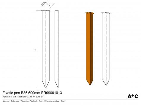 H25-H35 | Fixatiepen L=59cm