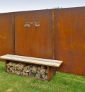 Corten Schutting 'Blind'