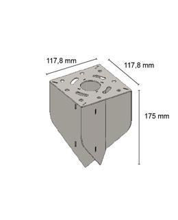 TT Adapter diagonaal 8°-30°