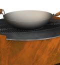 Cook O'Burra Ø98 cm, BBQ/vuurtafel
