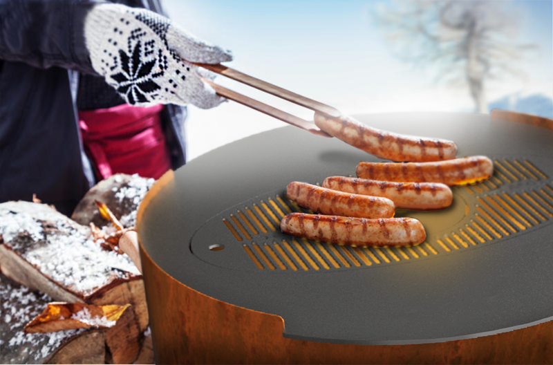 Buiten koken op de Cook O'Burra | Koop hem hier!