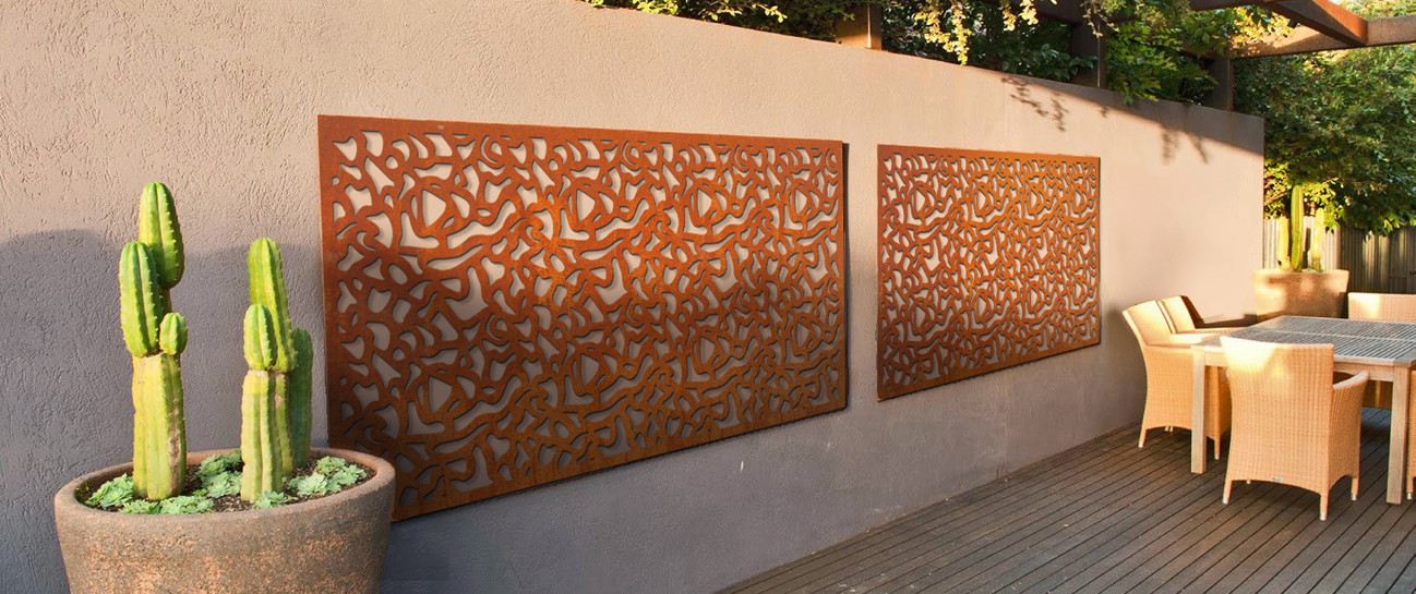 Corten screen | A+Concepts