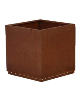Cortenstalen Plantenbak 145x145x145 cm