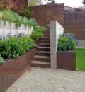 Cortenstalen Plantenbak 60x60x30 cm