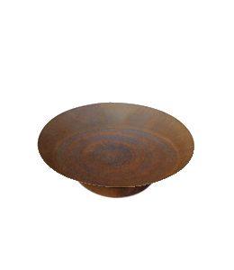 Cortenstalen Vuurschaal (Ø80cm+ring)