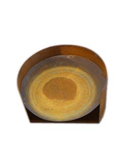 Cortenstalen Vuurschaal (Ø60cm+laag windscherm)