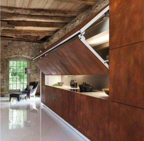 cortenstalen keuken | A+Concepts