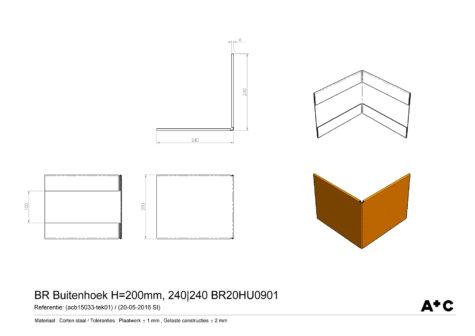 H20 | Buitenhoek - cortenstalen producten