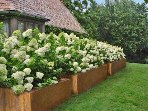 Geef je tuin een warme uitstraling met cortenstaal - cortenstalen producten